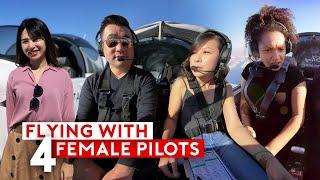 My Pilot Flight Training – Flying With Women Aviators