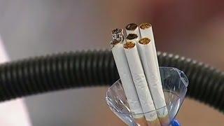 Смотреть онлайн Что бывает от выкуривания сигарет в легких