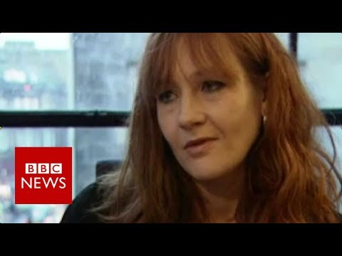 What JK Rowling said about the first Harry Potter book – BBC News