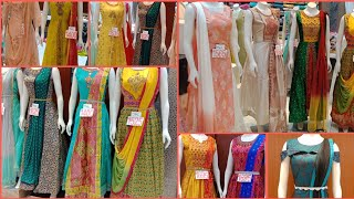 Floor Length & Straight Cut Designer Wear  Chudidar Readymade Dresses / With Offer Price  & Address