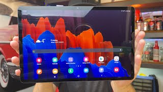 Ein sehr potenter Laptop Ersatz - Samsung Galaxy Tab S7+ 5G Review Deutsch German