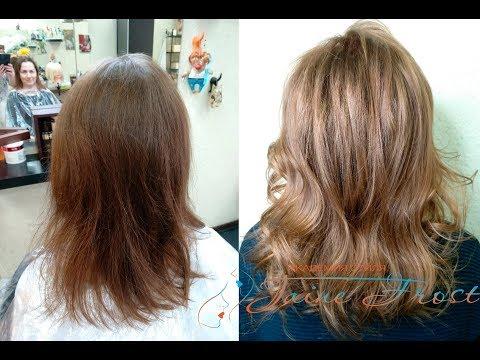 Способ и рецепт окрашивания тонких волос