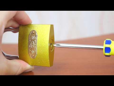3 modi per aprire un lucchetto!