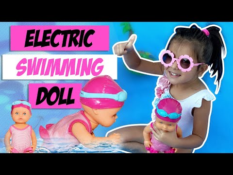 Join Malak Kidzo For The Unboxing Of Electric Waterproof Swimming Doll