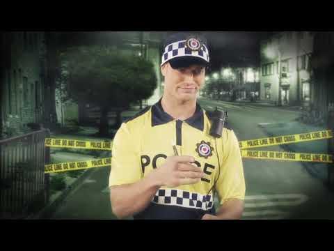 disfraz policia local