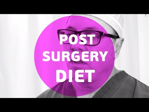 What should my diet be post surgery?