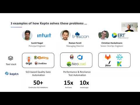 """CNCF On-Demand Webinar: Automating SRE from """"Hello World"""" to Enterprise Scale with Keptn"""