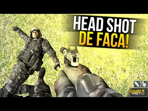 AU MODERN FPS | HEAD SHOT DE FACA? CГЉLOKO!