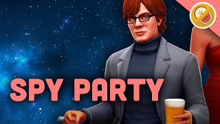 IT WAS XAVIER! Spy Party Funny Moments (w/ Chilled Chaos)