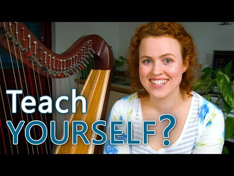 Can you teach yourself to play the harp?