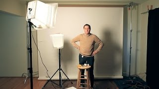 6 Tips For Setting Up A Home Or Office Studio - Photography & Lighting Tutorial