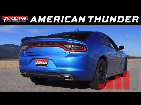 2015-16 Charger R/T, 2015-19 300 5.7L - American Thunder Cat-back Exhaust System 817658
