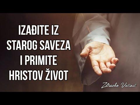 Zdravko Vučinić: Izađite iz Starog saveza i primite Hristov život