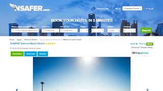 Case Study: Nsafer Hotels Booking Engine Website