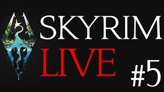 Skyrim Live #5 - Level Up! Reaper Of Dragon Souls!