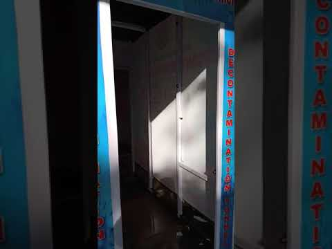Basic Sanitizer Tunnel Chamber Sanitization One BY One