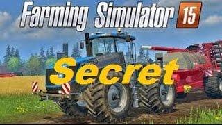 Farming Simulator 2015 Secret Exaucer un Voeux
