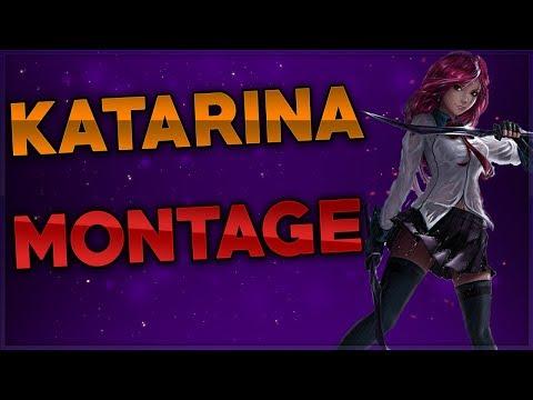 Katarina Montage #11 - Best Plays | Dagger Stuck - League of Legends