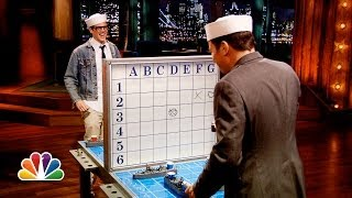 Battle Shots with Johnny Knoxville (Late Night with Jimmy Fallon)