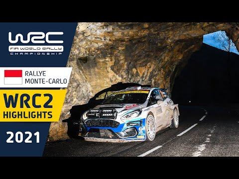 WRC2 2021 開幕戦のラリーモンテカルロ 日曜日のハイライト映像
