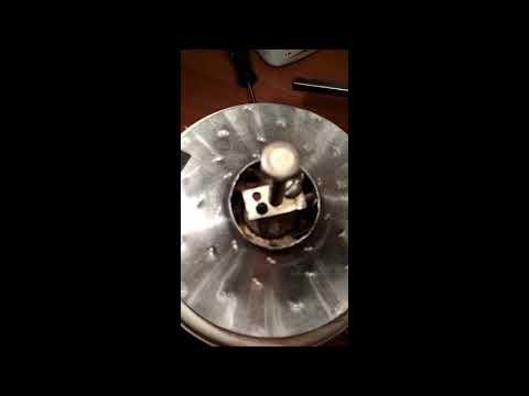 Разбор эл. двигателя пылесоса Thomas TWINt1 для замены подшипника