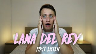 Listening to LANA DEL REY for the FIRST TIME | Reaction