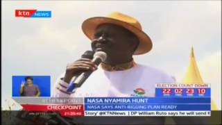 NASA takes vote hunt to Nyamira county