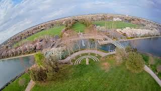 FPV Break Flight in California - 2021-03-08 - Random Clips with branches, water, and a flyby