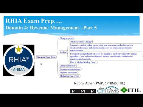 RHIA Exam Prep Domain 4: Revenue Management-Part 5: What is ...