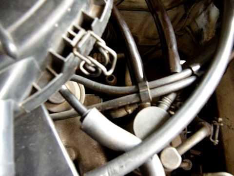 Das Benzin auf kpp vom Dieselmotor