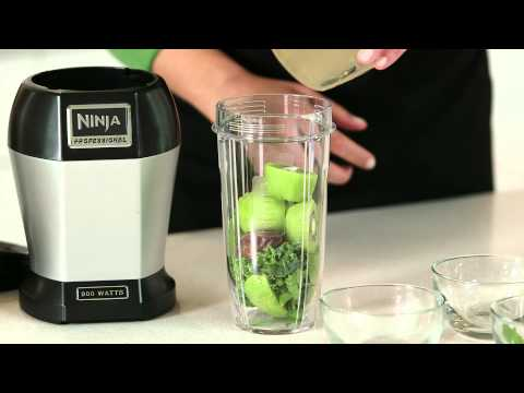Video Healthy Recipe by Nutri Ninja® | Ginger Greens Drink