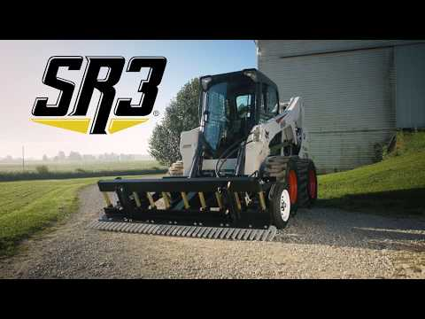 SR3 Skid-Steer Grading Rake – Farm & Ranch – Compact Track-Loader