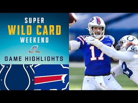 Colts vs. Bills Super Wild Card Weekend Highlights | NFL 2020 Playoffs