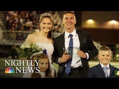 Inspiring Running Champion Crowned Homecoming King | NBC Nightly News