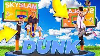 LAST TO MISS TRAMPOLINE DUNK... I'll Buy You Anything Challenge!!
