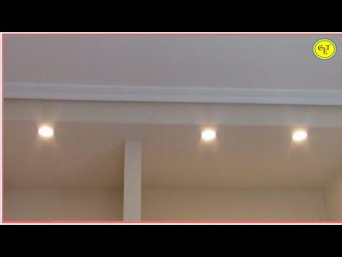 COMO COLOCAR FOCOS LED EMPOTRABLES (falso techo)/HOW TO PLACE EMPOTABLE LED FOCUSS (false ceiling)