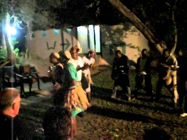 Southern Africa 2011; Local dancers performing traditional music and dance
