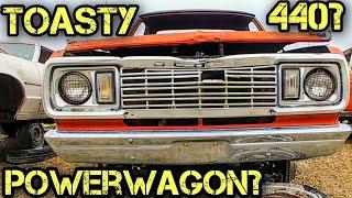 1977 Dodge Power Wagon Junkyard Find