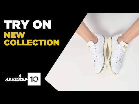 TRY ON | adidas Originals Stan Smith New Bold Shoes | Sneaker10