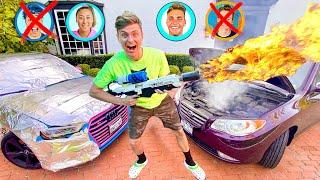 I PRANKED EVERY CAR ON TEAM RAR!!