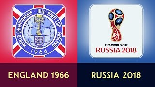 The Evolution Of FIFA World Cup Logo [[ 1930 - 2018 ]]