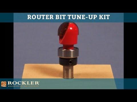 rockler router bit tune up kit rockler woodworking and hardware. Black Bedroom Furniture Sets. Home Design Ideas