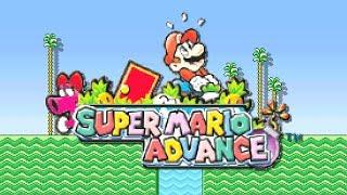 Super Mario Advance (Mario 2)   Game Boy Advance   No Commentary