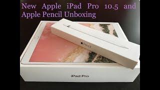 NEW Apple iPad Pro 10.5 (2017) and Apple Pencil Unboxing - dooclip.me