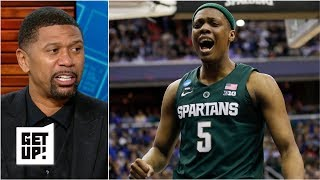 Michigan State Beat Duke Because They Played With 'a Chip On Their Shoulder' - Jalen Rose | Get Up!