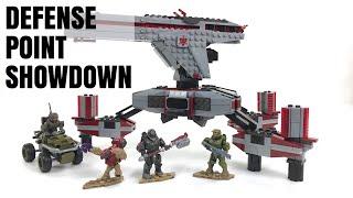 Halo Infinite Mega Construx Defense Point Showdown Speed Build - Set GNB27