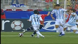 Chile Vs Argentina En El Mundial Sub20 De Canadá - 2007