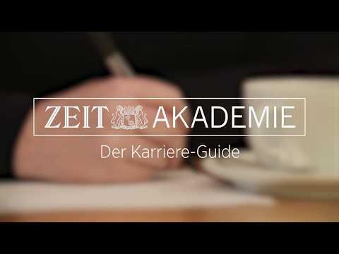 Der Karriere-Guide: Berufseinstieg leicht gemacht | ZEIT Akademie