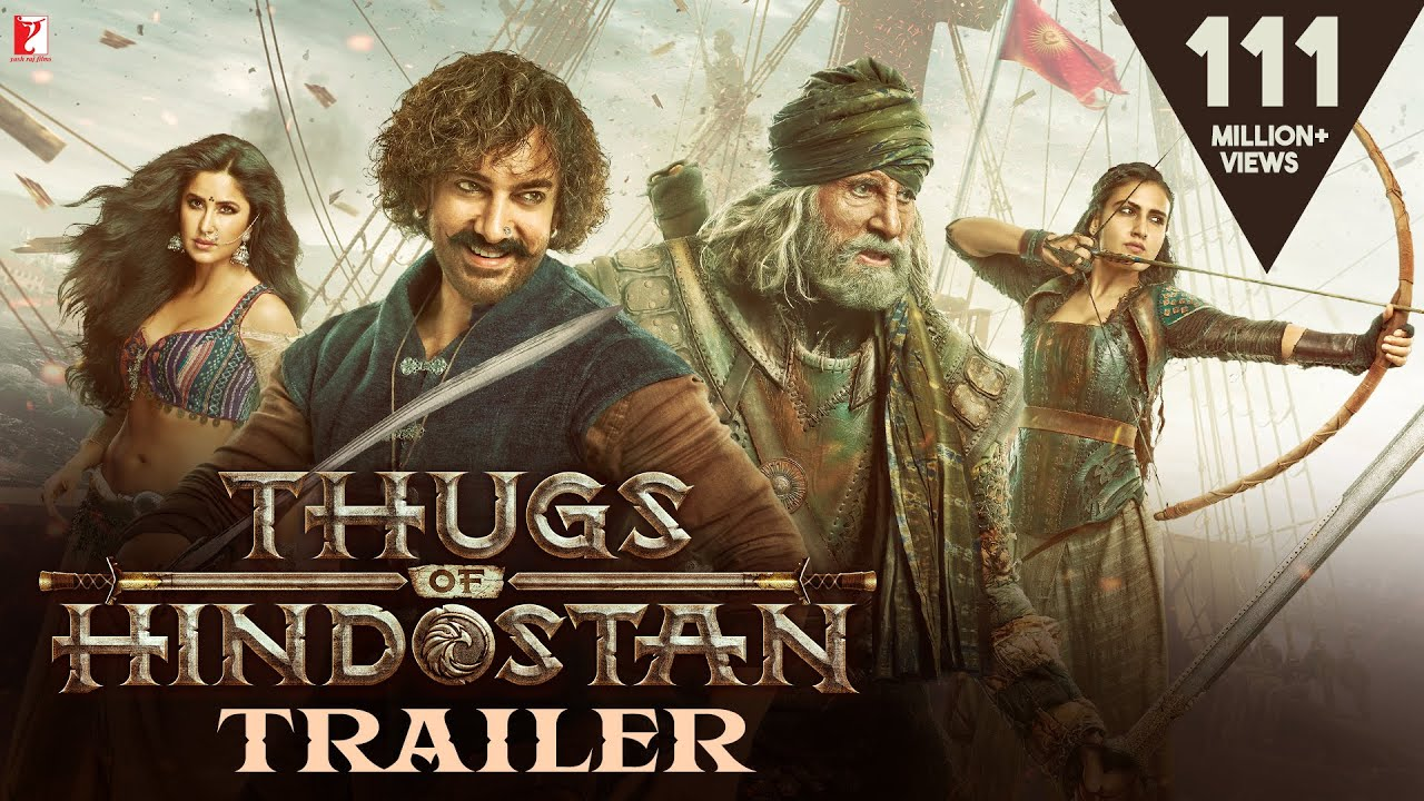 Finally Its Here | Aamir Khan's Next Thugs of Hindostan Official Trailer Released