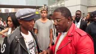 Does Pharrell Get Dissed by Rapper Mase Backstage of BET Awards